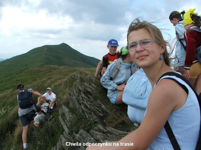 Oglądasz obraz z artykułu: Obóz wędrowny - Bieszczady 2005
