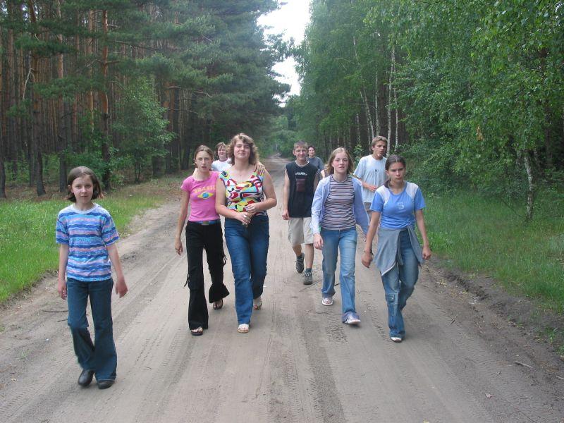 Oglądasz obraz z artykułu: Klasa Ib na biwaku w Rudnie