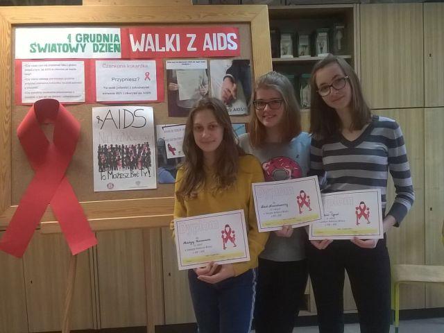 Oglądasz obraz z artykułu: Gminny Konkurs Wiedzy o HIV i AIDS
