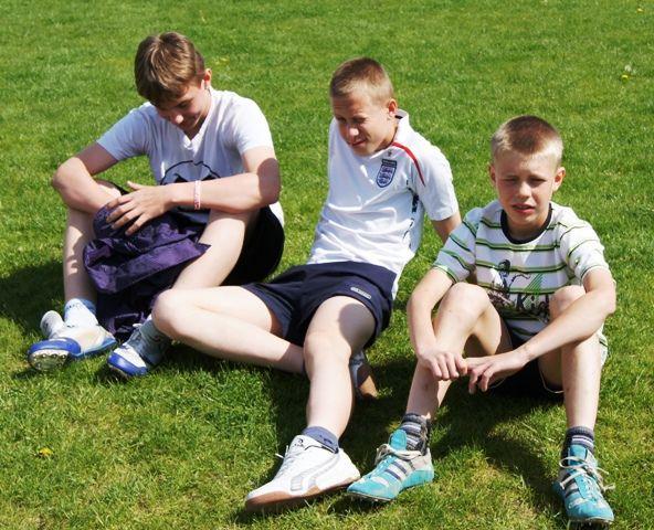 Oglądasz obraz z artykułu: Czwórbój lekkoatletyczny w Wolsztynie