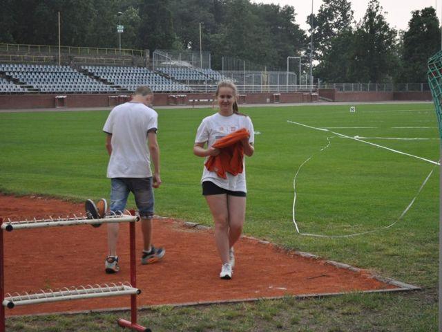 Oglądasz obraz z artykułu: Biegaliśmy na stadionie olimpijskim