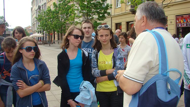 Oglądasz obraz z artykułu: Podróż warszawskimi uliczkami