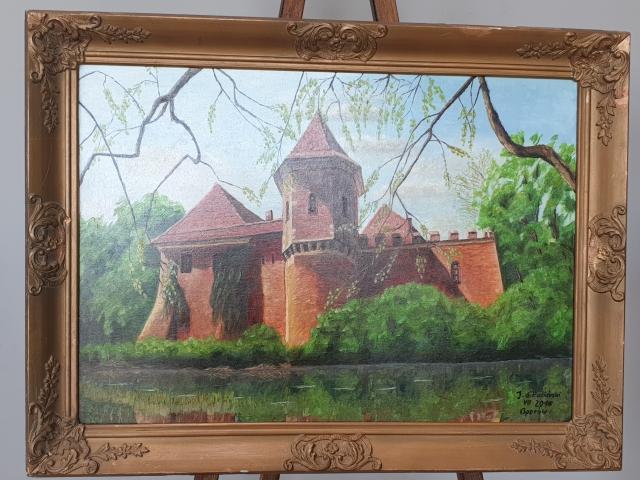 Oglądasz obraz z artykułu: Wystawa malarstwa Jerzego Sikucińskiego 'Portrety i pejzaże'