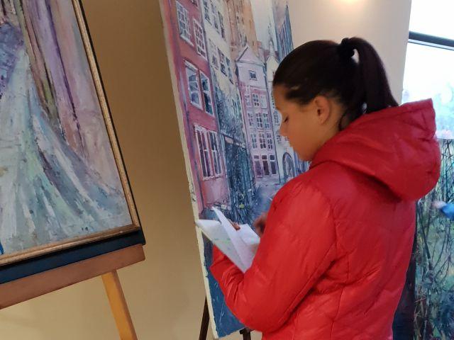Oglądasz obraz z artykułu: Wystawa malarstwa Urszuli Szkop